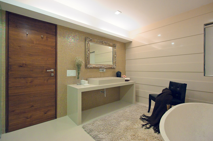 Show Apartment Modern bathroom by Studio A Modern