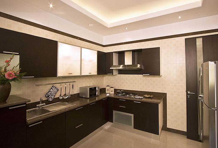Show flat Modern kitchen by Cubism Modern