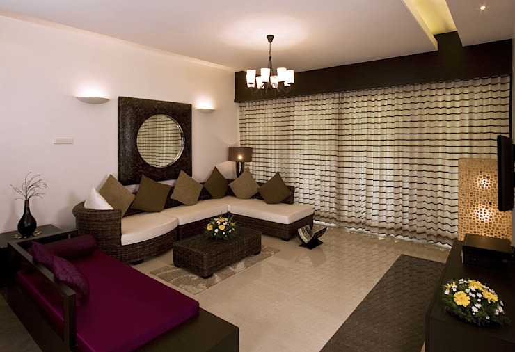 Show flat Modern living room by Cubism Modern