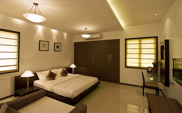 Show flat Modern style bedroom by Cubism Modern