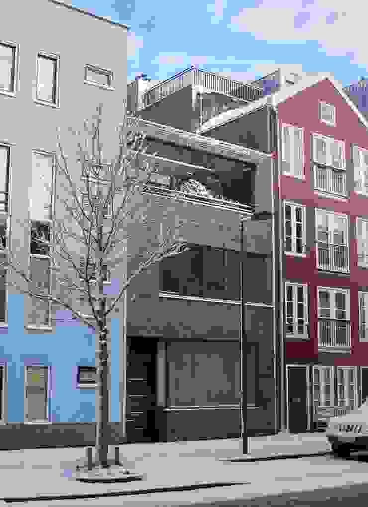 Voorzijde moderne stadsvilla Amsterdam Moderne huizen van Villa Delphia Modern
