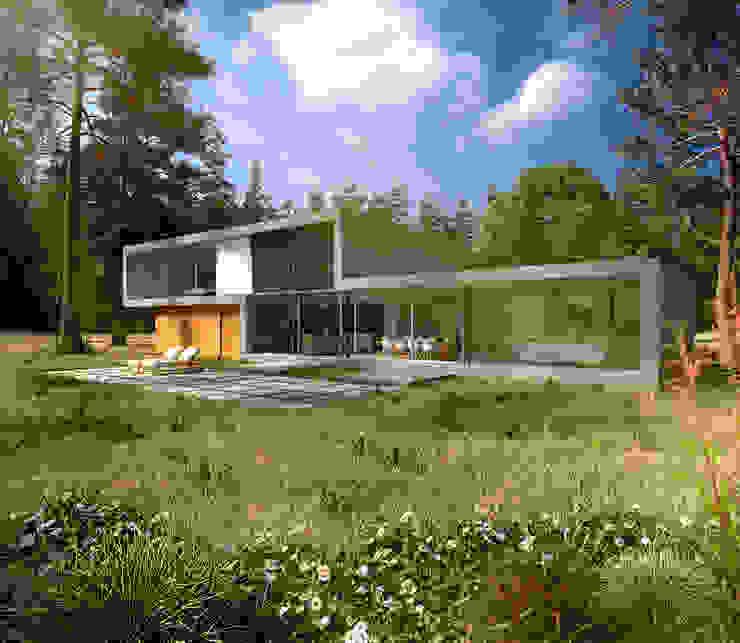 Casas estilo moderno: ideas, arquitectura e imágenes de Villa Delphia Moderno