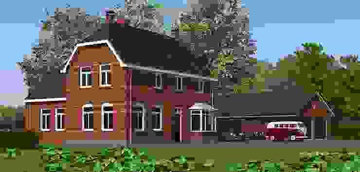 Ontwerp energieplus huis met Jugenstil kenmerken Klassieke huizen van Villa Delphia Klassiek