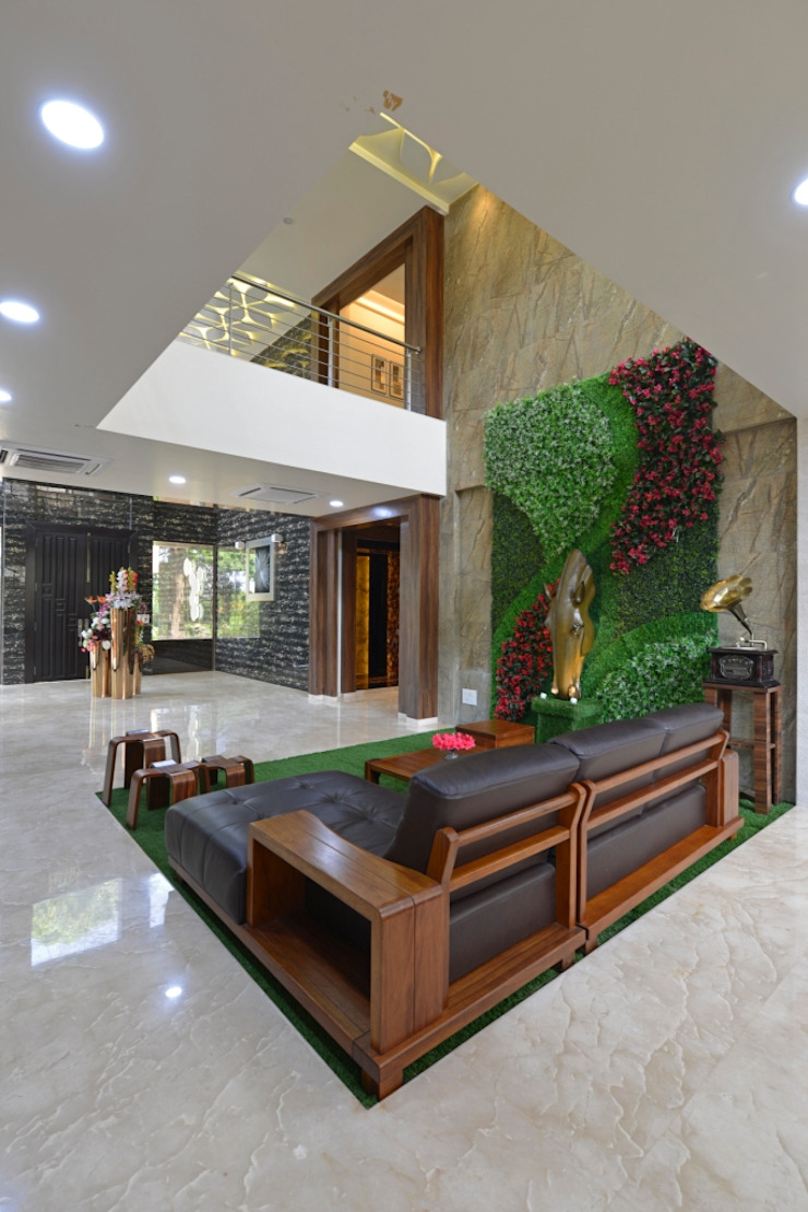 lounge: eclectic  by AIS Designs,Eclectic