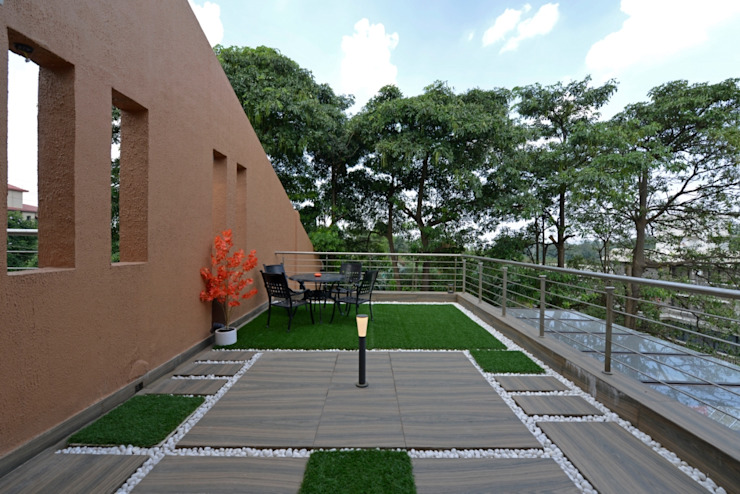 living deck: eclectic  by AIS Designs,Eclectic