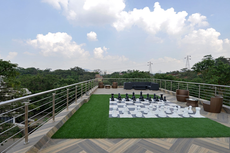 chess lawn deck: eclectic  by AIS Designs,Eclectic
