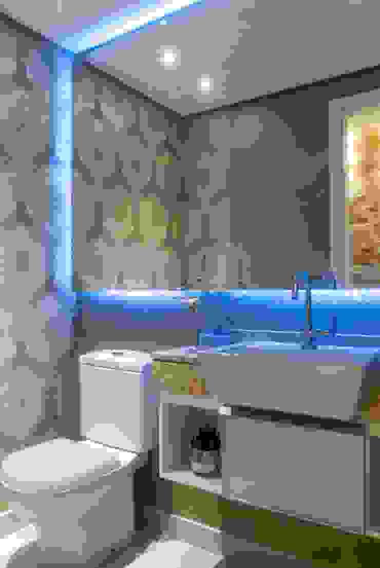 Lavabo Banheiros modernos por Nilda Merici Interior Design Moderno