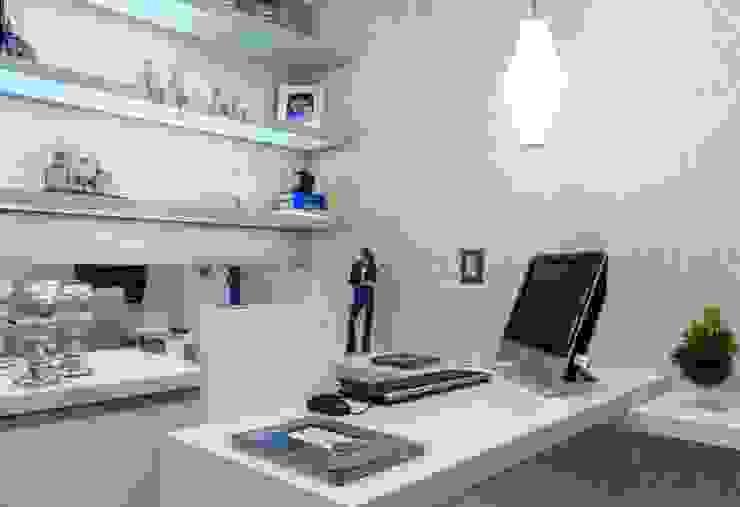 모던스타일 서재 / 사무실 by Nilda Merici Interior Design 모던