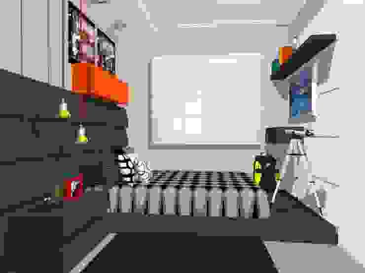 Quarto do Menino Quartos modernos por Nilda Merici Interior Design Moderno