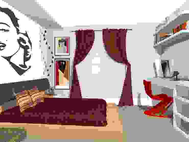 Suite da Mãe Jovem Quartos modernos por Nilda Merici Interior Design Moderno