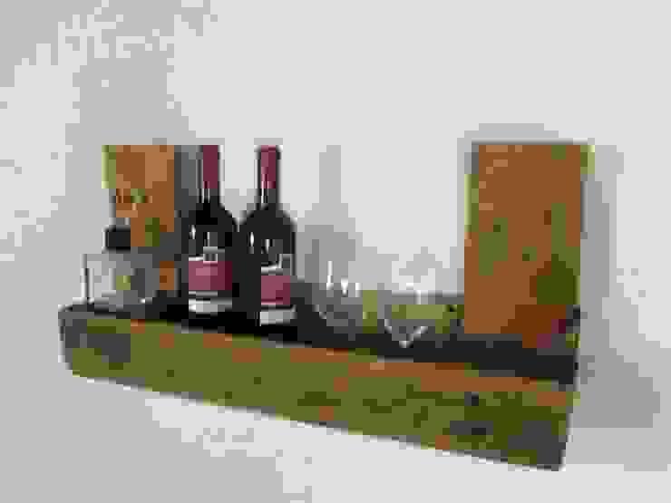 Kleines Regal aus gebrauchten Europaletten Woodupcycling KücheSchränke und Regale