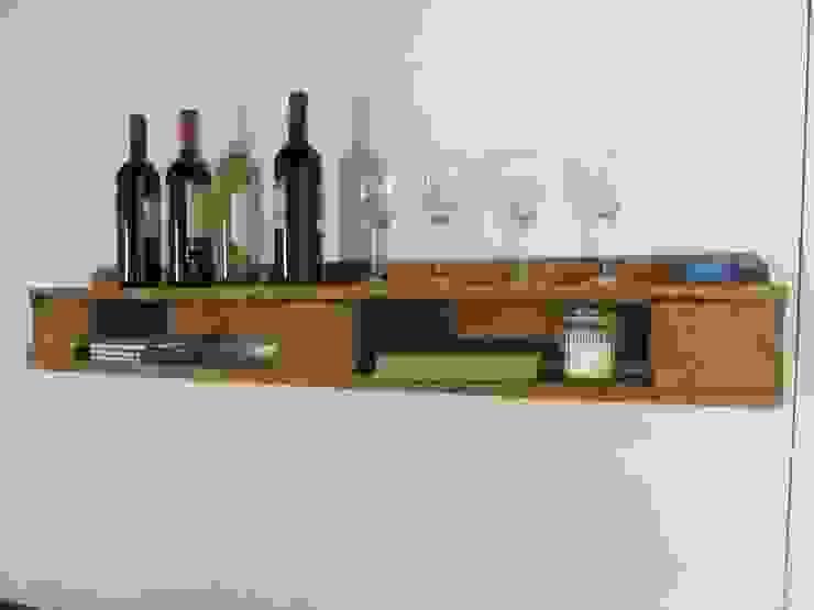 Regal aus gebrauchten Europaletten Woodupcycling WohnzimmerAufbewahrung