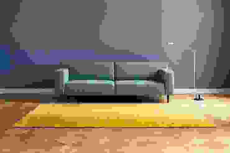 """ARGILE Interieur matt """"argile bleue"""" Moderne Wohnzimmer von homify Modern"""