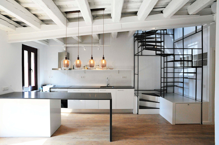 Cozinhas minimalistas por BONBA studio Minimalista