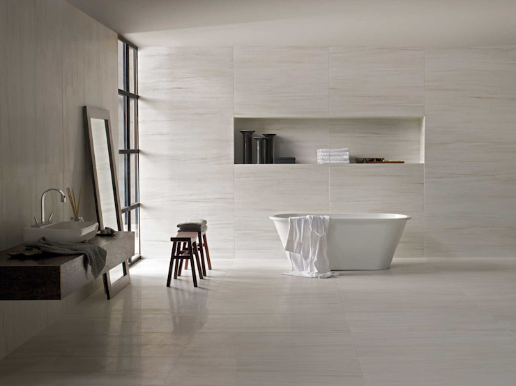 Scandinavian style bathroom by natursteinwolf GmbH & Co. KG - die natursteinmanufaktur Scandinavian
