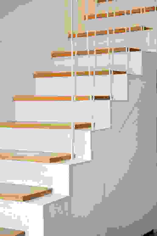 Proyecto de Interiorismo. Barcelona BONBA studio Pasillos, vestíbulos y escaleras de estilo clásico