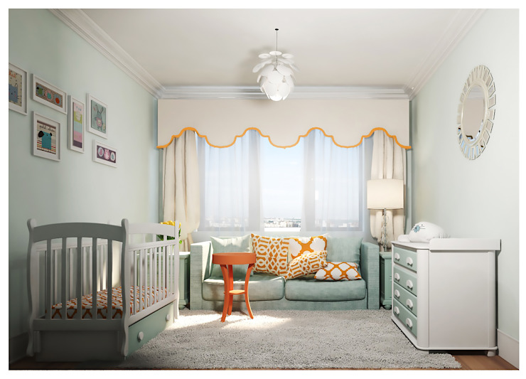 Nursery/kid's room by Alexander Krivov, Classic