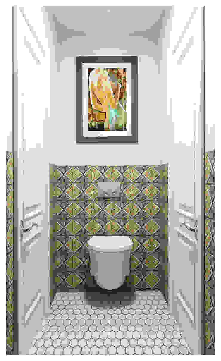 Санузел в марокканском стиле Alexander Krivov Ванная в классическом стиле Многоцветный