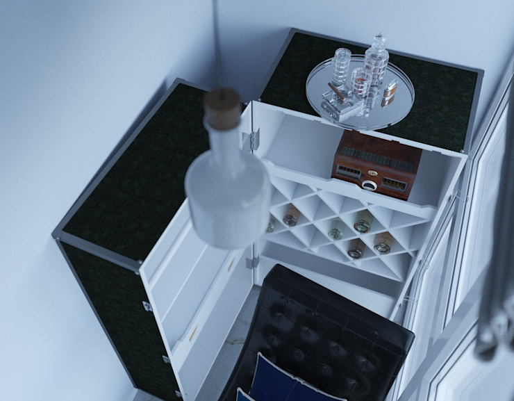 le luxe de la simplicité Балконы и веранды в эклектичном стиле от Dara Design Эклектичный