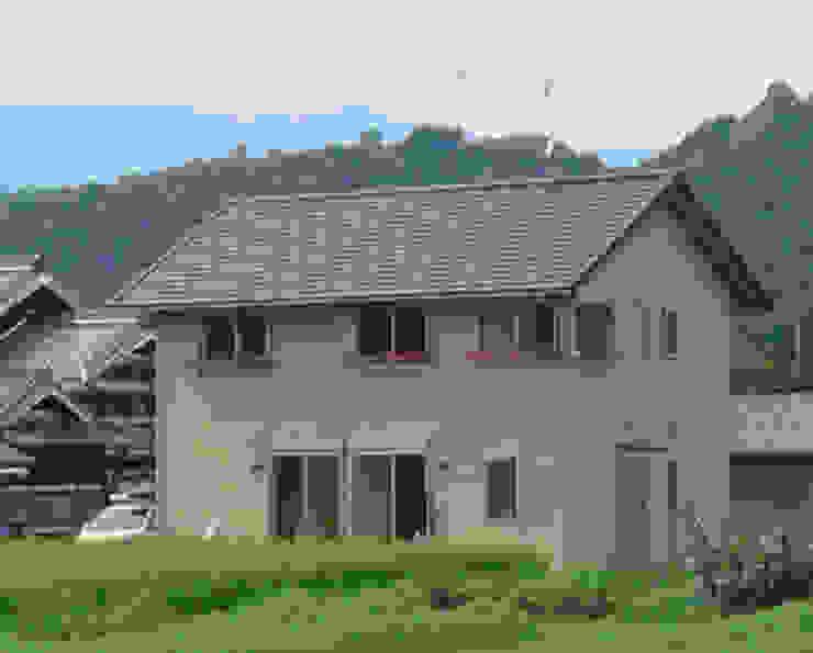 五條の家Ⅱ モダンな 家 の 株式会社 atelier waon モダン