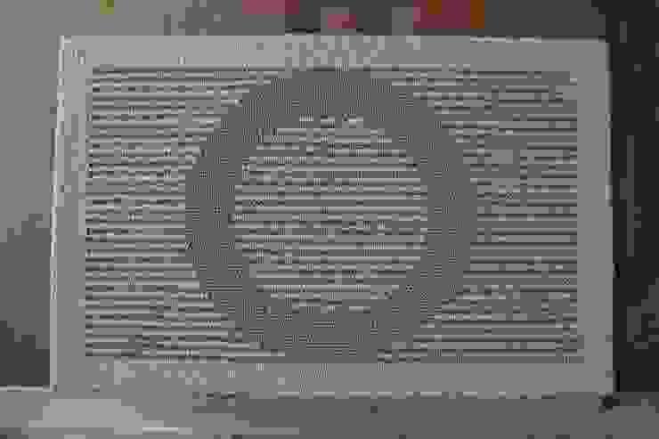 麻だんつう 穂波みのり ベージュ 玄関マット: 穂積繊維が手掛けたアジア人です。,和風 天然繊維 ベージュ
