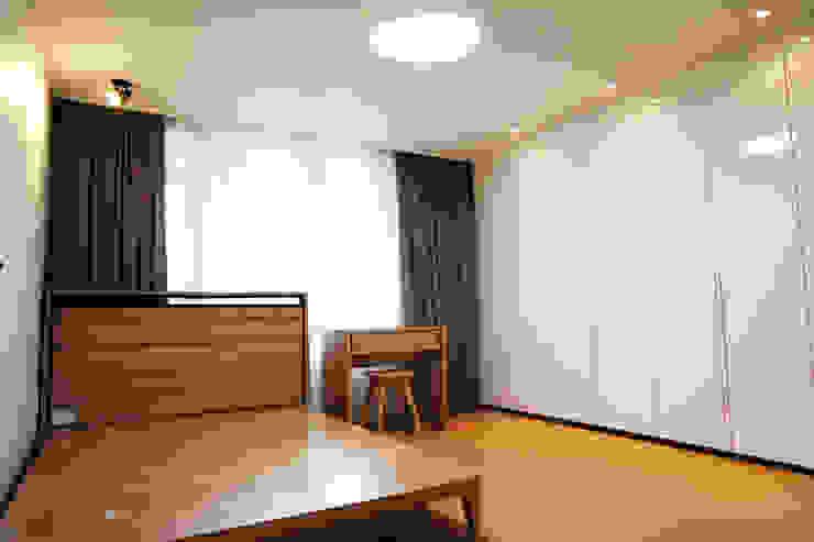 일원동 목련타운 38PY 스칸디나비아 침실 by dezainsoul 북유럽