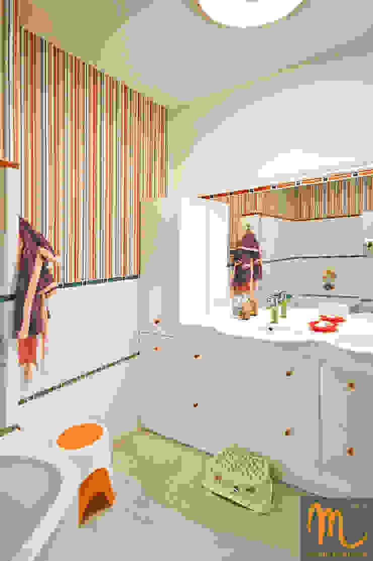 KOLOROWY NATOLIN Nowoczesna łazienka od studio m Katarzyna Kosieradzka Nowoczesny