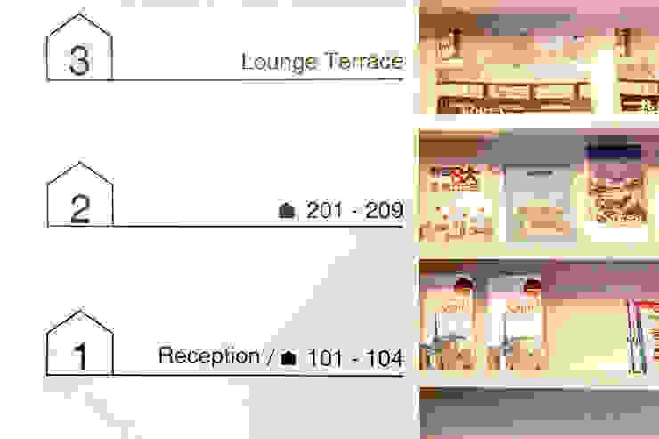 인사동 디자인호스텔 (before & after) 인더스트리얼 스타일 호텔 by 마이네임이즈존 인더스트리얼