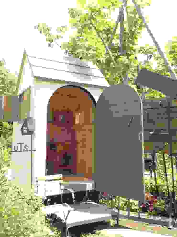 車輪hut カントリーな 庭 の HUTS カントリー