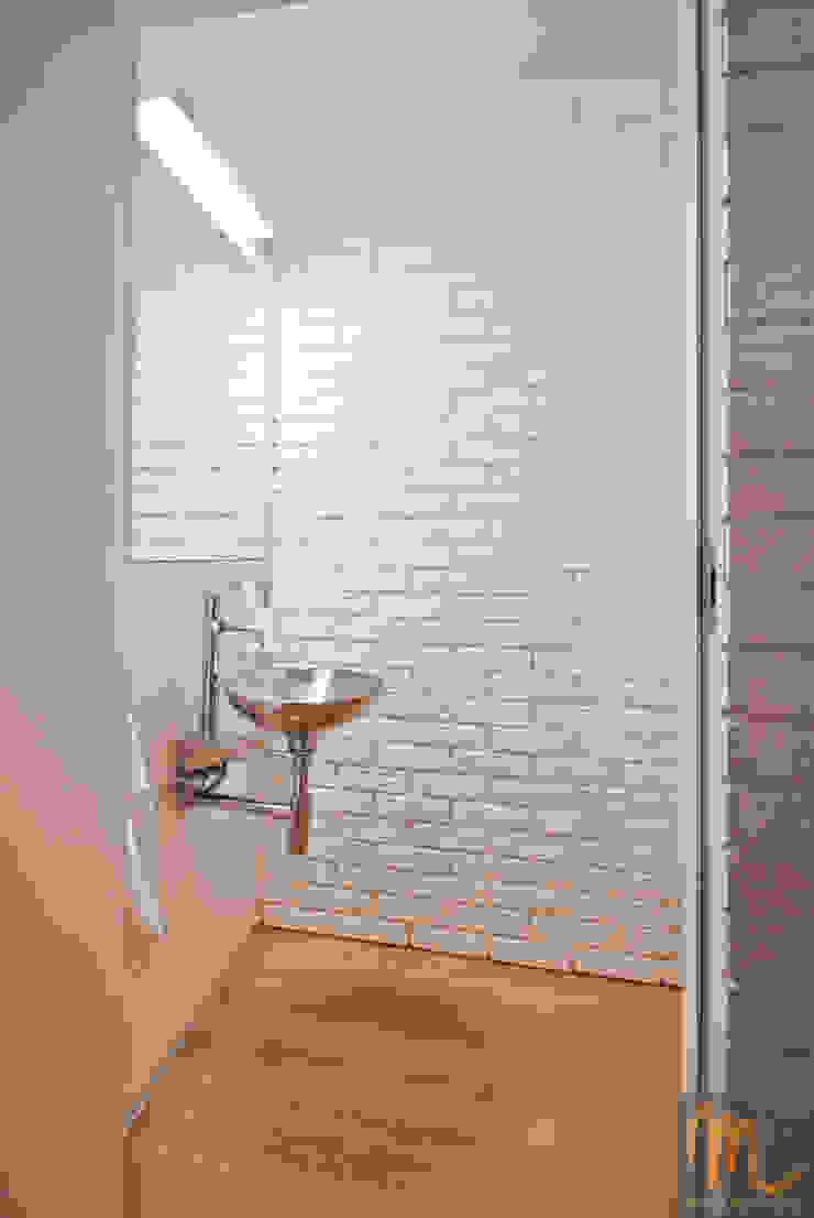 SASKA KĘPA Nowoczesna łazienka od studio m Katarzyna Kosieradzka Nowoczesny