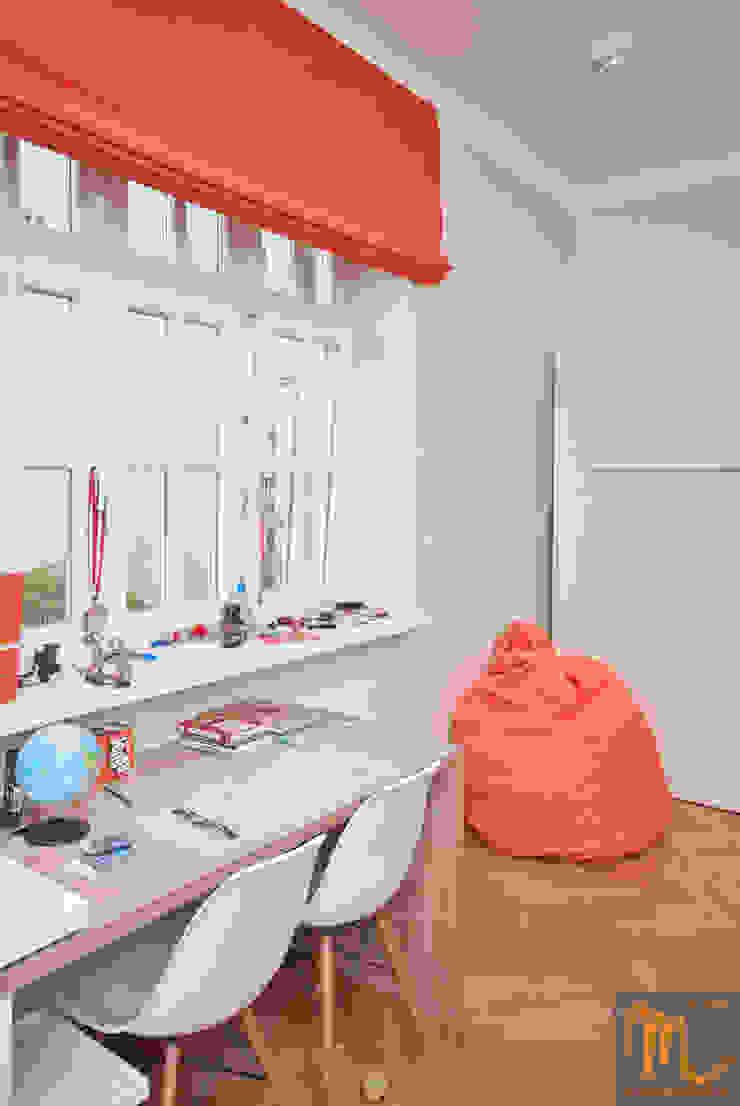 SASKA KĘPA Nowoczesny pokój dziecięcy od studio m Katarzyna Kosieradzka Nowoczesny