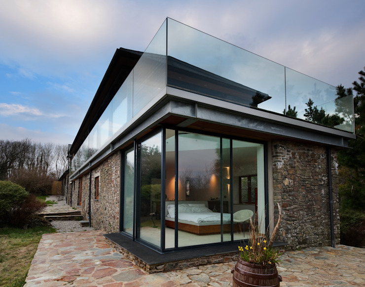 Down Barton, Devon Modern houses by Trewin Design Architects Modern
