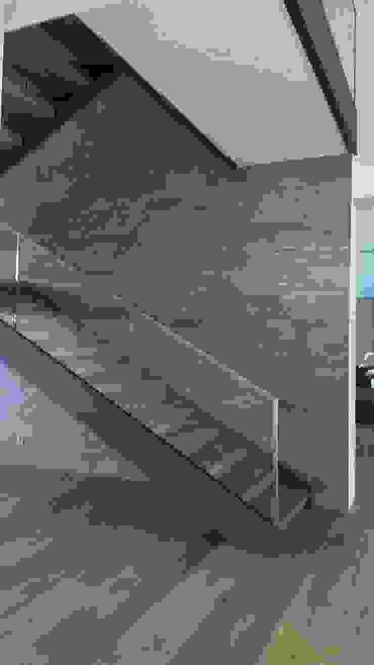 Hành lang, sảnh & cầu thang phong cách hiện đại bởi Diemer Architekten Part. mbB Hiện đại Sắt / thép