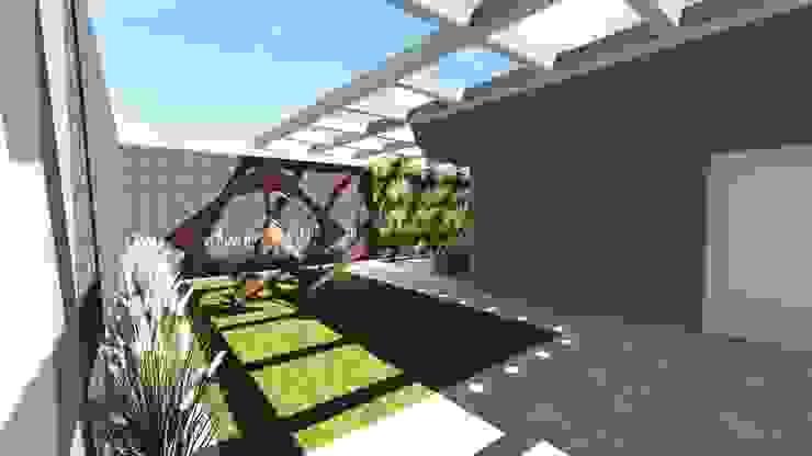 Entrada Jardins modernos por Studio² Moderno