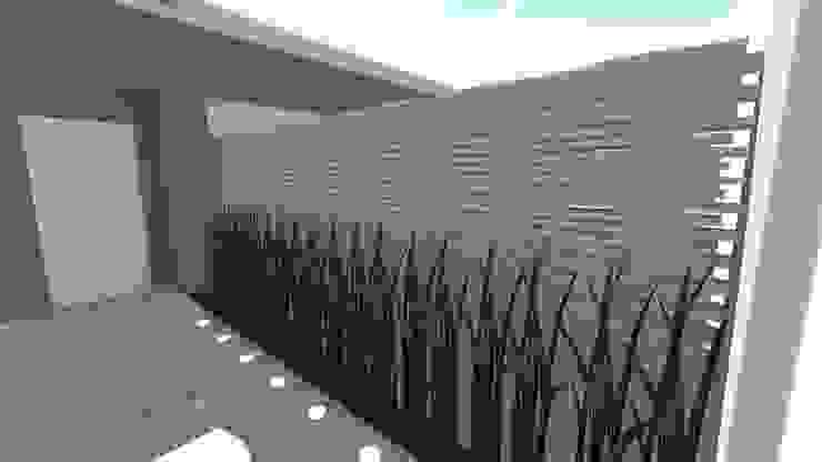 Entrada principal Jardins modernos por Studio² Moderno