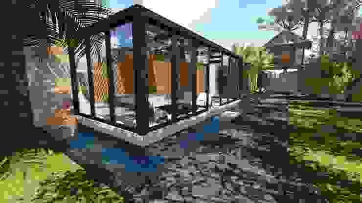 Estar e Spa Jardins modernos por Studio² Moderno