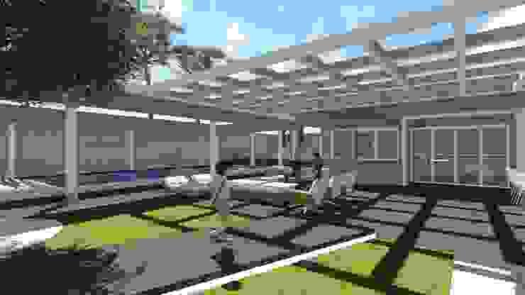 Deck Varandas, alpendres e terraços modernos por Studio² Moderno