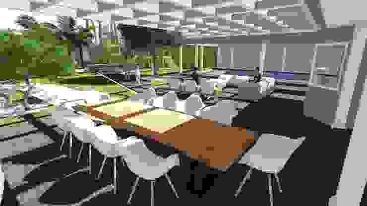 Varanda Varandas, alpendres e terraços rústicos por Studio² Rústico