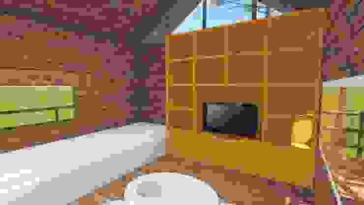 Casa na árvore Jardins modernos por Studio² Moderno