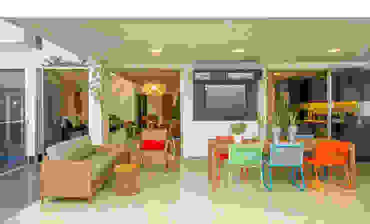 Balcon, Veranda & Terrasse modernes par Arquitetura 1 Moderne