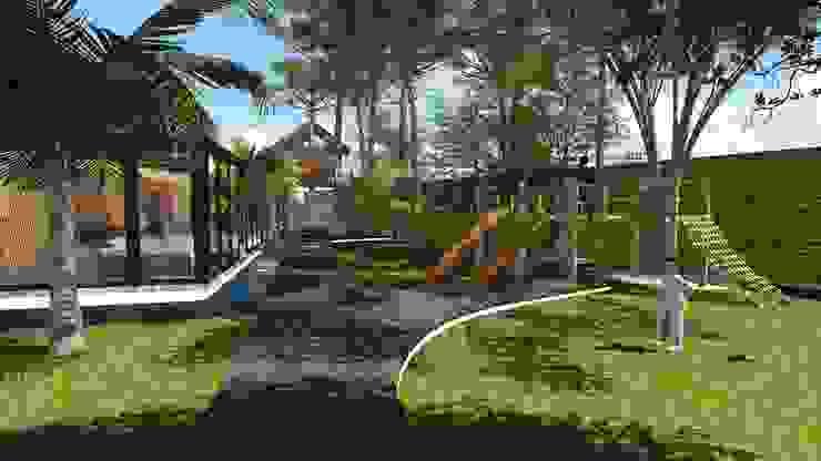 Jardim Jardins modernos por Studio² Moderno