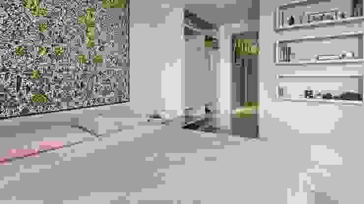 Residência T|R—VZ Arquitetas Lyssandro Silveira Modern style bedroom White