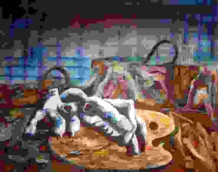 Pintura por Custodio Almeida Moderno