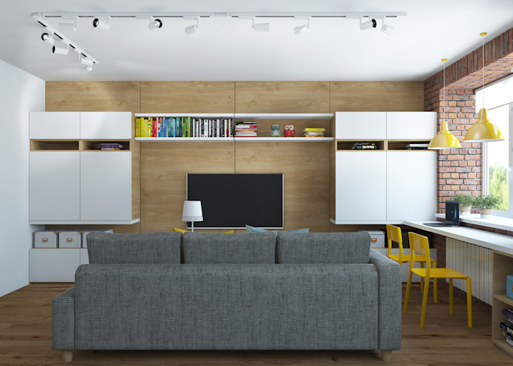 3D GROUP Living room