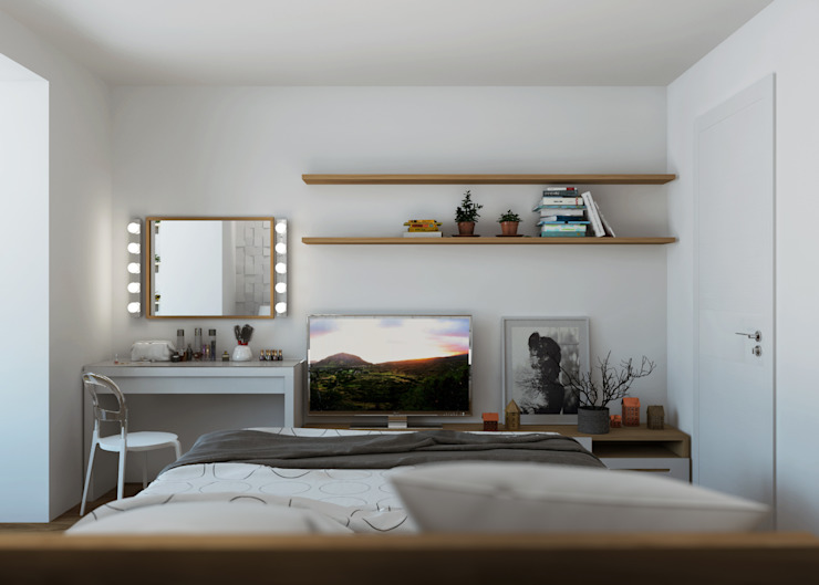 3D GROUP Minimalist bedroom