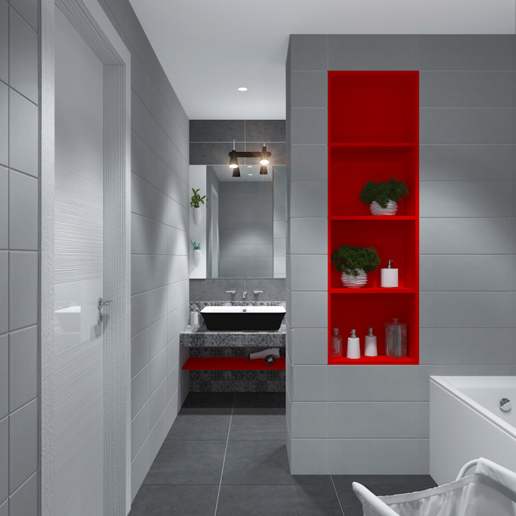 3D GROUP Minimalist style bathroom