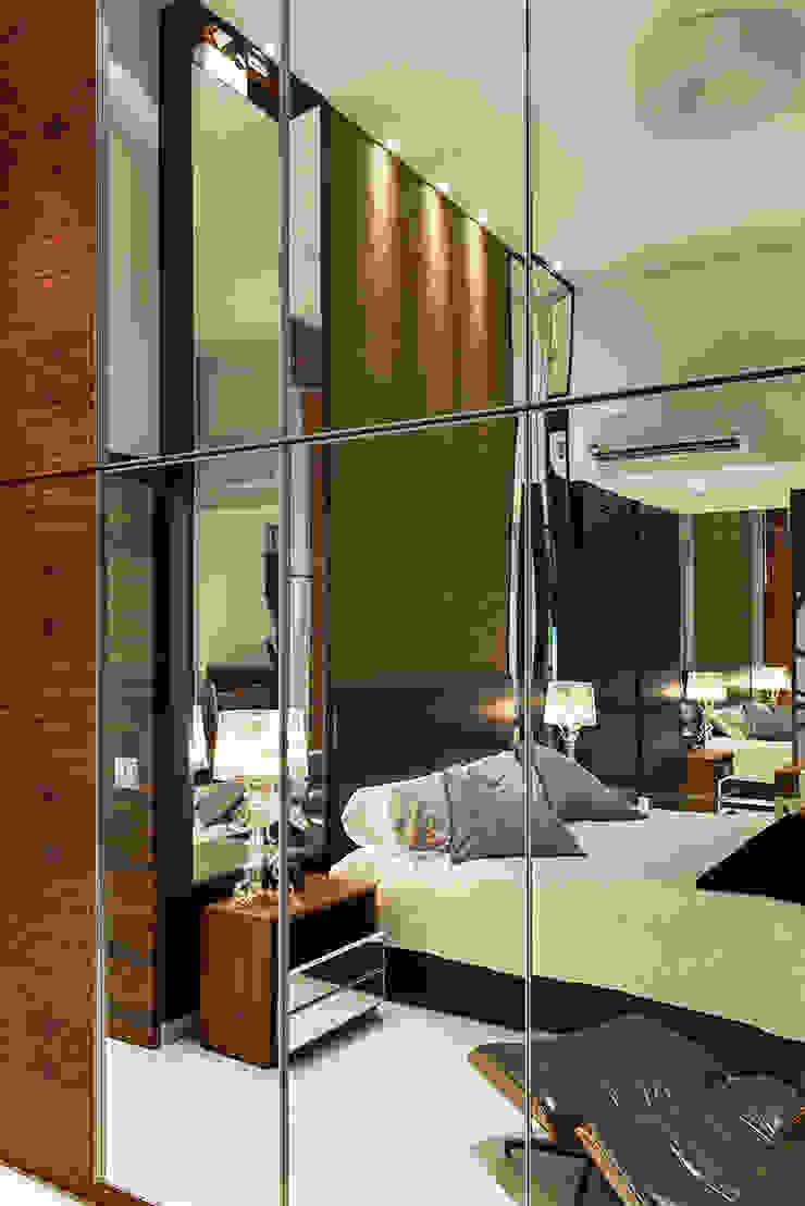 Suite do Casal AQVA Quartos modernos por daniela andrade arquitetura Moderno