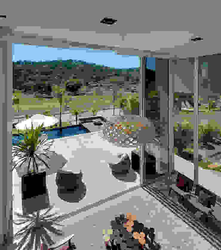 Casa Aldeia 082 Salas de estar modernas por dayala+rafael arquitetura Moderno