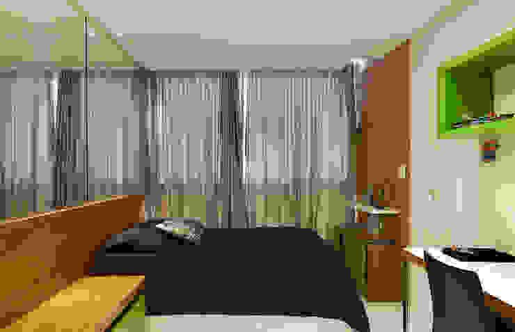 Quarto Jovem AQVA Quartos modernos por daniela andrade arquitetura Moderno