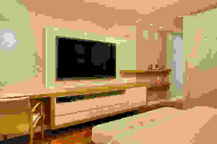 apartamento Peninsula - Barra da Tijuca Quartos modernos por Isabela Lavenère Arquitetura Moderno